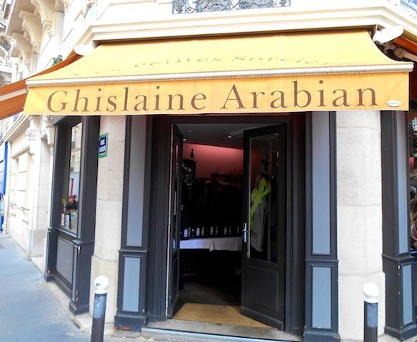 Restaurant de ghislaine arabian les petites sorci res - Ghislaine arabian restaurant ...